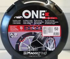 Catene neve per autovetture MAGGI THE ONE 175/65/14  9mm autotensionanti zincata