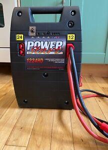 Power Start 12V/24V Jump Starter Pack & Car Battery Charger
