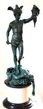 Talla Bronce perseus-medusa Firmado Cellini Figura De Escultura