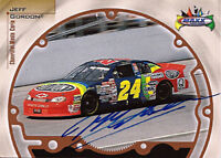 Jeff Gordon Autograph Signed 1999 Maxx NASCAR Champion Card