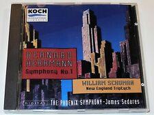 Bernard Herrmann SYMPHONY William Schuman NEW ENGLAND TRIPTYCH James Sedares CD