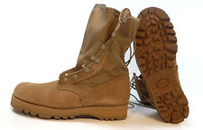 NEW US Military Army HOT WEATHER COMBAT BOOTS Belleville Desert USA  15 W