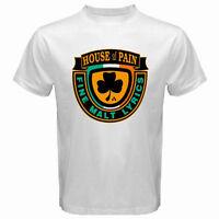 New HOUSE OF PAIN FINE MALT LYRICS Logo Men's White T-Shirt Size S to 3XL
