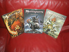 MORTEPIERRE - TARVEL / AOUAMRI - LOT 3 PREMIERS TOMES DONT 2 EDITIONS ORIGINALES