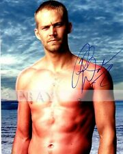 GAY INT SHIRTLESS PAUL WALKER SIGNED INTO THE BLUE