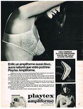 PUBLICITE ADVERSTISING  1969   PLAYTEX  soutien gorge