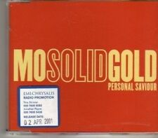(DF649) Mo Solid Gold, Personal Saviour - 2001 DJ CD