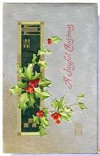 1910 a Joyful Christmas Antique Vintage Postcard 194