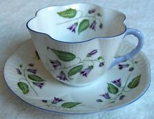 Shelley china England~Campanula cup & saucer-Dainty shape-NR