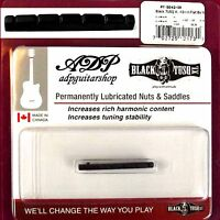 Sillet Graph Tech Black TusqXL PT-5042-00 Tele Strat Slotted Nut Flat Short42mm
