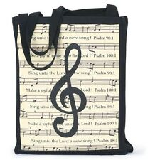 Make a Joyful Noise, Music Tote Bag