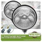 "6"" Roung Fog Spot Lamps for Suzuki Vitara. Lights Main Beam Extra"