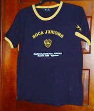 CABJ Club Atletico Boca Juniors T-Shirt Buenos Aries, Argentina Youth Size XL