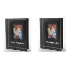 Pioneer Photo Albums 4x6in 1-up 36 Pocket Black - LLL-46-BL (2 Pack)