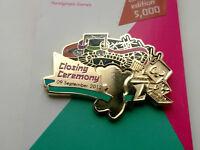 RARE LONDON 2012 OLYMPICS ERROR PIN BADGE PARALYMPICS CLOSING CEREMONY