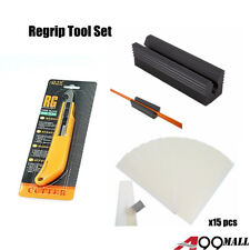 A99 Golf Regrip Tool Kit for Clubs set of 3 (Knife+Tapes+Clamp) Equipment Supply