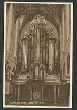 Haarlem  Orgel Groote Kerk