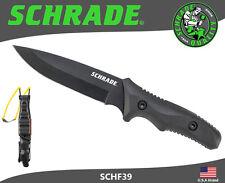 Schrade Fixed Blade Knife Full Tang 8Cr13MoV Guide Master Sling Shot SCHF39