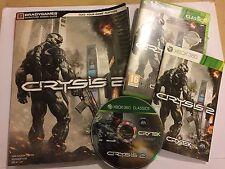 XBOX 360 Crysis 2/II Juego Completo + Brady guía de estrategia