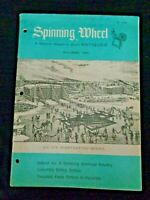 Spinning Wheel 1965 Bitters Bottles Livery Buttons Crosses Pope-Leighey House VA