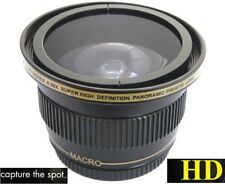 For Sony HDR-CX430 HDR-PJ650 HDR-PJ430 Fisheye Lens Ultra Super HD Panoramic