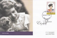 (19019) Gambia Mercury FDC Queen 75th Birthday 26 April 2001