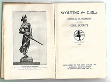 Scouting For Girls 4th Edition 1923 Illus. Monroe HS Troop 41 Honeoye Troop 1 NY