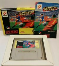 International Superstar Soccer per Super Nintendo SNES - COMPLETO - PAL