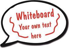 Speech Bubble - Whiteboard 27cm