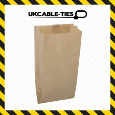 "Kraft Paper Bag V Bottom 6 x 12 x 4"" Brown for Food/Sweet/Mushroom Bags"