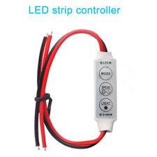 3 keys LED Strip controller 5V 12V 24V DC 2 pins Dimmer controller 6A