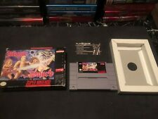 Magical Sword SNES IN BOX !