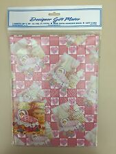 Gift Wrap Paper-2 Sheets & Gift Card