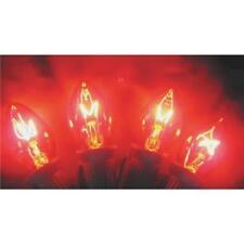 125 Pk Red C7 125V Replacement Christmas Tree Light Bulb @ 4/Pk 1415-03