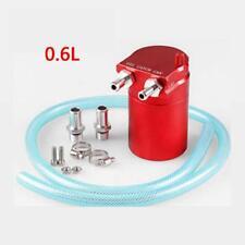 New Baffled Aluminum Oil Catch Can Reservoir Tank / Oil Catch Tank 6mm 10mm