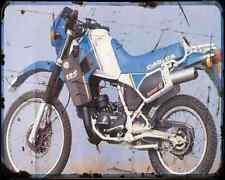 Cagiva Elefant 125 2 A4 Metal Sign Motorbike Vintage Aged