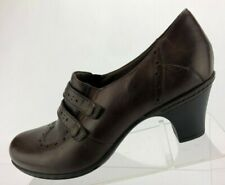Cobb Hill by New Balance Dress Pumps Brown Leather Comfort Heels Womens Size 10M