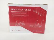Akaso Wireless Security Camera System Wifi Video Surveillance Kits Used