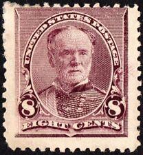 "US Sc# 225 *MINT OG H* { 8c WILLIAM SHERMAN } ""JUMBO"" BANK NOTE OF 1893 SERIES"