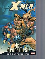 X-Men: The Complete Age of Apocalypse Epic Vol 1 (2006, Marvel Comics)