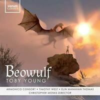Toby Young: Beowulf - Armonico Consort Timothy West Elin Manahan Thoma (NEW CD)