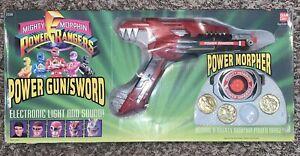 Mighty Morphin Power Rangers Power Gun/Sword Morpher 1993 Bandai Vintage W/ BOX!