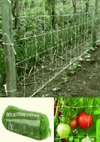 rete di sostegno tenax per ortaggi 2x5 metri rampicanti ortaggi piante