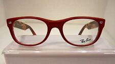 NEW RAYBAN RB 5184 MATTE RED 5406 PLASTIC EYEGLASSES FRAME 50-18-145 RX
