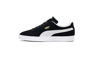 Puma Suede Classic + Plus Retro Black and White Oreo 352634 03 Size 8-13
