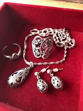 ~Scrolled~ 925 Sterling Silver Jewelry Lot