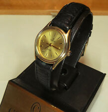 Concord Mariner Ladies 14 K Solid Gold Quartz Watch with Boxes!