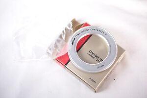 NOS NEW Canon Lens Mount Converter P M42 lens to Canon FL/FD Infinity Focus