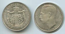 G7703 - Luxembourg 100 Francs 1964 KM#54 XF Silver Jean Grand Duc Scarce