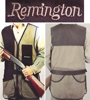 NEW REMINGTON DELUXE SHOOTING VEST,SKEET/TRAP SHOOTERS SIZE ADULT MEDIUM